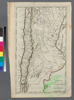 antique_maps-00964 - Chili and part of the Viceroyalty of La Plata