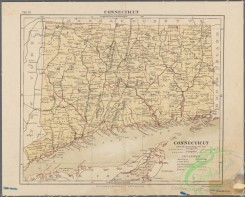 antique_maps-00969 - ConnecticutAdditional (Map of) Connecticut