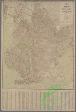 antique_maps-01112 - Map of Brooklyn, House Number and Subway Guide