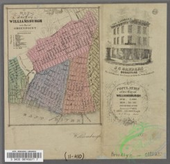 antique_maps-01230 - Map of the City of Williamsburg with part of Greenpoint