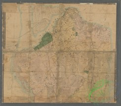 antique_maps-01311 - Map of Staten Island (Richmond Co.) N.Y. , also cities of Bayonne & Perth Amboy and village of woodbridge, N.J., showing topography, farms, shore soun