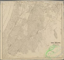 antique_maps-01338 - Map of the Bronx. (including part of Yonkers, Mount Vernon, and New Rochelle)