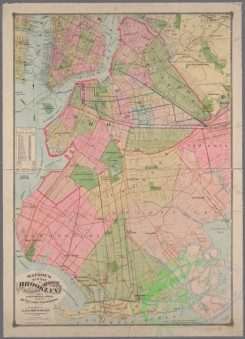 antique_maps-01360 - New Map of Brooklyn including Kings Co. from the latest official surveys