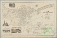 antique_maps-01419 - Map of Westminster Park of the Thousand Island, St. Lawrence River