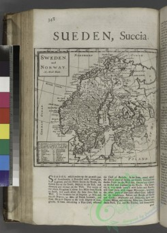 antique_maps-01650 - Sweden, and Norway