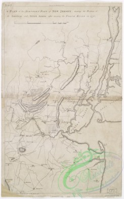 antique_maps-01984 - A plan of the northern part of New Jersey  -  shewing the positions of the American and British armies after crossing the North River in 1776, 1