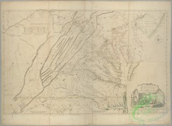 antique_maps-02129 - A map of the most inhabited part of Virginia containing the whole province of Maryland  -  with part of Pensilvania, New Jersey and North Carolina