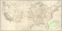 antique_maps-02379 - Map of the United States and territories  -  shewing the extent of public surveys and other details