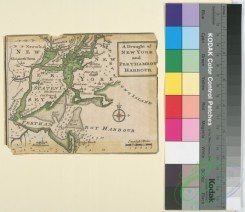 antique_maps-02745 - 0805-A draught of New York and Perthamboy Harbour