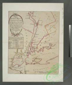 antique_maps-02944 - 1745-An accurate map of Staten Island  -  with that part of New York, Long Island and the Jerseys which is the rendesvous of the two grand armies and the s