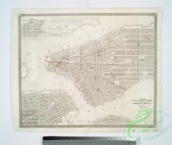 antique_maps-03008 - 1111-Map of the city of New York  -  with the adjacent cities of Brooklyn & Jersey City, & the village of Williamsburg