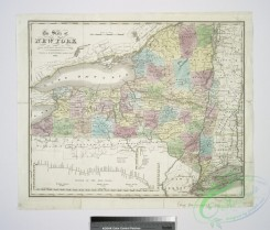 antique_maps-03035 - 1149-The state of New York from the most recent surveys