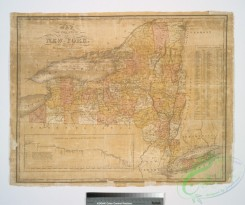 antique_maps-03040 - 1153-Map of the State of New York