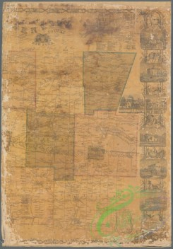 antique_maps-03202 - 3076-Map of Genesee County, New York