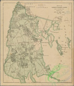 antique_maps-03374 - 3605-Part of the 24th ward east of the Bronx River, annexed to the City of New York