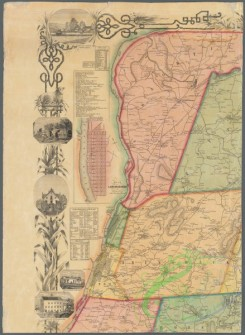 antique_maps-03428 - 3806-Map of Rensselaer County, New York