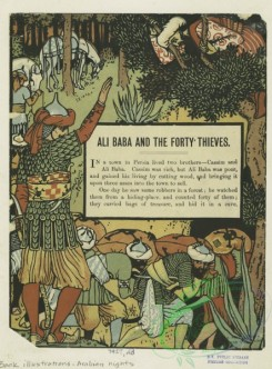 childrens_books-01369 - 057-Ali Baba and the forty thieves,Additional Ali Baba and the forty thieves