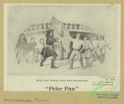 childrens_books-01399 - 087-Peter Pan's terrible fight with Captain Hook