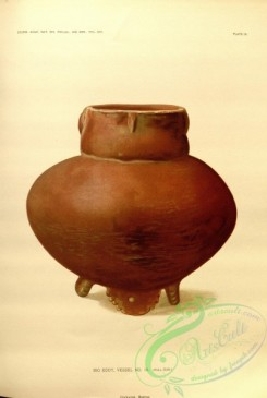 crockery-00046 - Vase with red pigment