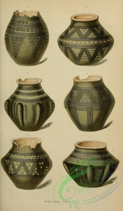 crockery-00049 - Anglo-Saxon Pottery