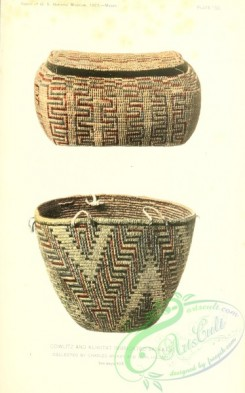 crockery-00083 - 027-Cowlitz and Klikitat Imbricated Basket