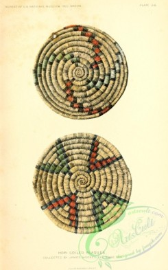 crockery-00091 - 035-Hopi Coiled Plaques