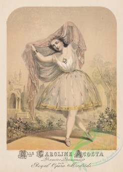dances-00240 - 0035-Mlle Caroline Acosta, premier (sic) danseuse from the Royal Opera, Madrid