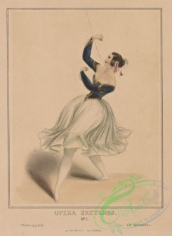dances-00291 - 0473-Opera sketches, No, 1, Fanny Ellsler (sic), La Saragoza,Additional Saragoza