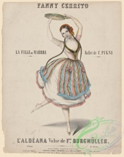 dances-00366 - 1149-Fanny Cerrito, La fille de marbre, ballet de C, Pugni,Additional Fille de marbre