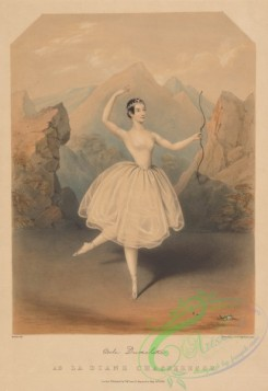 dances-00380 - 1256-Adele Dumilatre (facsimile signature) as la Diane chasseresseAdditional Jolie fille de Gand