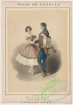 dances-00515 - 0672-Valse de Paquita, composed by Deldevez, arranged for the piano forte by Charles Coole,Additional Paquita