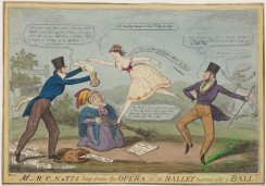 dances-00544 - 0935-M-RC-N,TI'S leap from the Opera, or the Ballet turned into a Ball,Additional Caricature