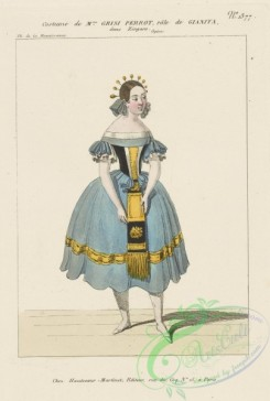 dances-00617 - 1602-Costume de Mme, Grisi Perrot, role de Gianita, dans Zingaro,Additional Zingaro