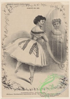 dances-00700 - black-and-white 0437-Carolina Pochini, prima ballerina assoluta al R, Teatro di Torino (1867),Additional Unidentified ballet