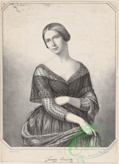 dances-00800 - black-and-white 1819-Fanny Cerrito (facsimile signature),Additional Portrait