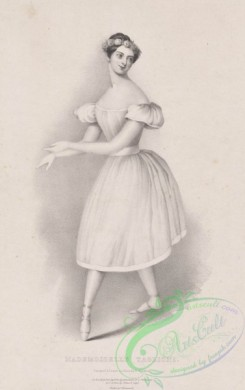dances-00815 - black-and-white 0057-Mademoiselle TaglioniAdditional Unidentified ballet