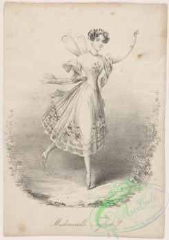 dances-00845 - black-and-white 0256-Mademoiselle TaglioniAdditional Sylphide