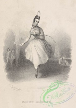 dances-00936 - black-and-white 1104-Fanny Elssler,Additional Cracovienne