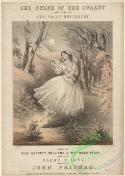 dances-00958 - black-and-white 1268-The sylph of the forest, the song of the fairy butterfly,Additional Sylphide