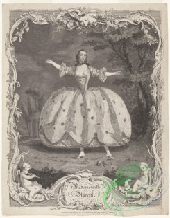 dances-01000 - black-and-white 1638-Mademoiselle AurettiAdditional Unidentified ballet