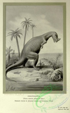 dinosaurs-00146 - black-and-white 018-Ceratosaurus