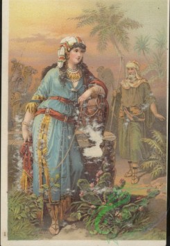 ephemera_advertising_trading_cards-00021 - 0021-Woman in national dress, old man, East, Palm, Camel [2076x3000]