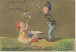 ephemera_advertising_trading_cards-00031 - 0031-Boy, Girl, doll, trough, inflating soap bubbles [3000x2080]
