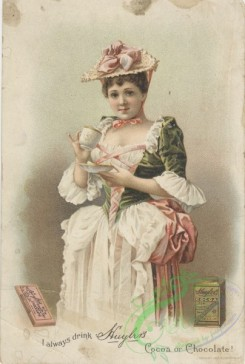 ephemera_advertising_trading_cards-00540 - 0540-Woman with cup, hat, dress [2022x3000]
