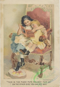 ephemera_advertising_trading_cards-01014 - 1014-Reading book, fairytales, chair, woman, girl, mother [2083x3000]
