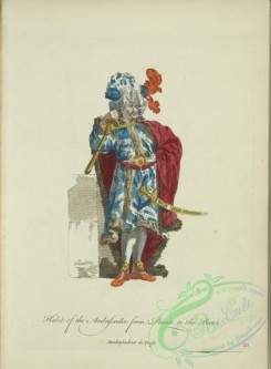 fashion-00797 - 036-Habit of the ambassador from Persia to the Port, Ambassadeur de perse
