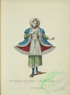 fashion-00819 - 058-Habit of a young lady of Naxis an island in the Archipelago in 1700, Fille de l'Isle de Naxos