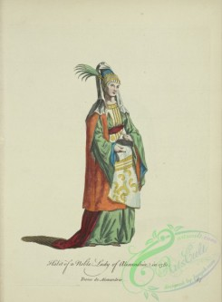 fashion-00851 - 090-Habit of a noble lady of Alexandria in 1581, Dame de Alexandrie