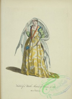 fashion-00867 - 106-Habit of a noble matron of Venice in 1581, Dame Venitienne