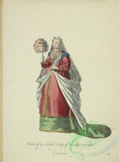 fashion-00883 - 122-Habit of a noble lady of Vincentia in 1581, Dame Vicentine